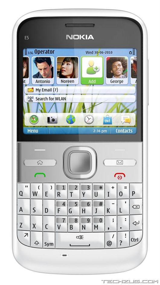 Nokia C3, C6 and E5 Smartphones