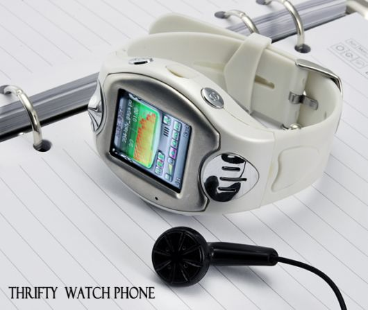 Amazing Thrifty Watch Phone