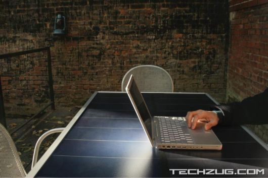Amazing Solar Table Concept