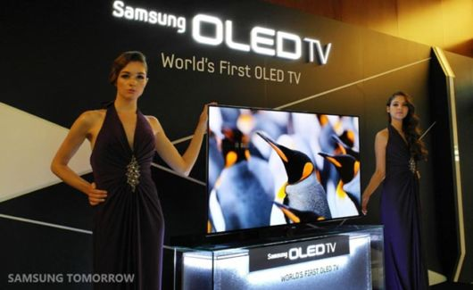 Worlds First OLED TV By Samsung